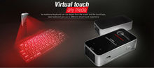 Portable Mini Wireless Bluetooth Virtual Laser Keyboard Para Jogos Teclado For Ipad/Iphone Computer Tablet Projection Keyboard