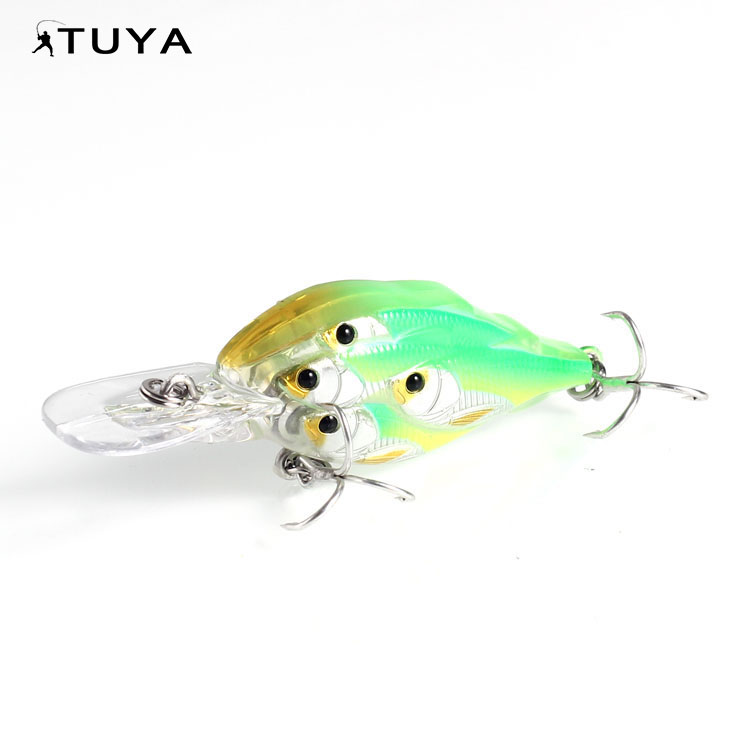 Eco-Friendly fishing jointed trolling tackle lure