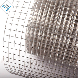 Cheap galvanized welded net iron wire mesh roll wire fencing for rabbit cage