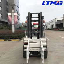 2017 LTMA 3 ton diesel automatic forklift with bale clamp attachment