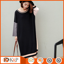 New style korean ladies blouse sweater dress
