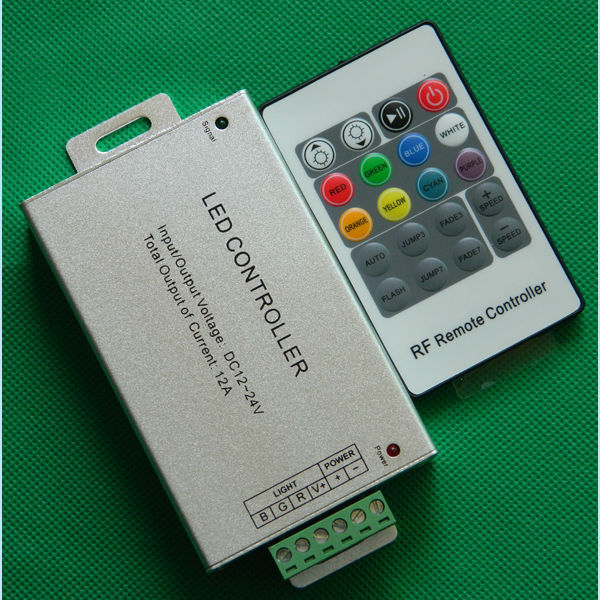RF Led ethernet controller c-3 led controller 12V