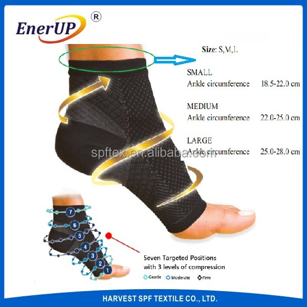 Foot Sleeves Plantar Fasciitis Compression- Heel Arch Support/ Ankle Sock