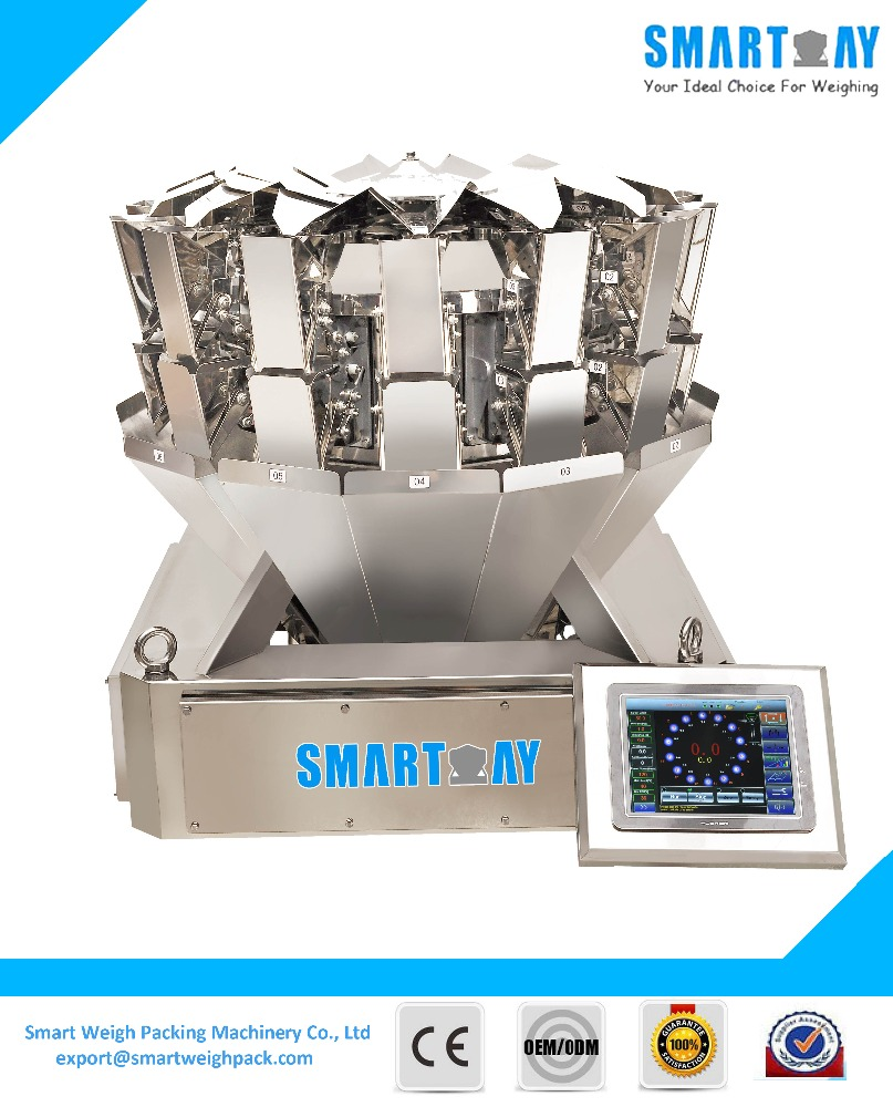14 Head Small Automatic Weight Weighing Packing Machine