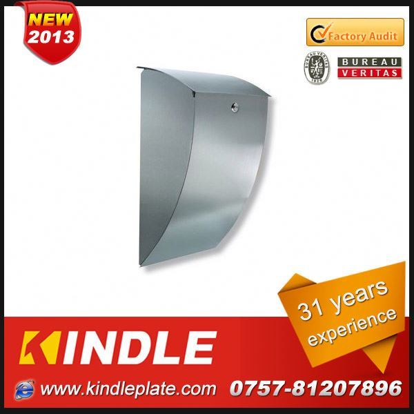 Kindle low cost commercial lockable customized steel postbox with 31 years experience