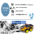Okystar 2WD Intelligent Chassis Car Robot multi hole smart car kit for Arduino