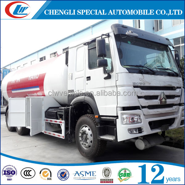 ASME 10MT LPG Bobtail Trucks 10 Wheels LPG Tank Trucks for sale