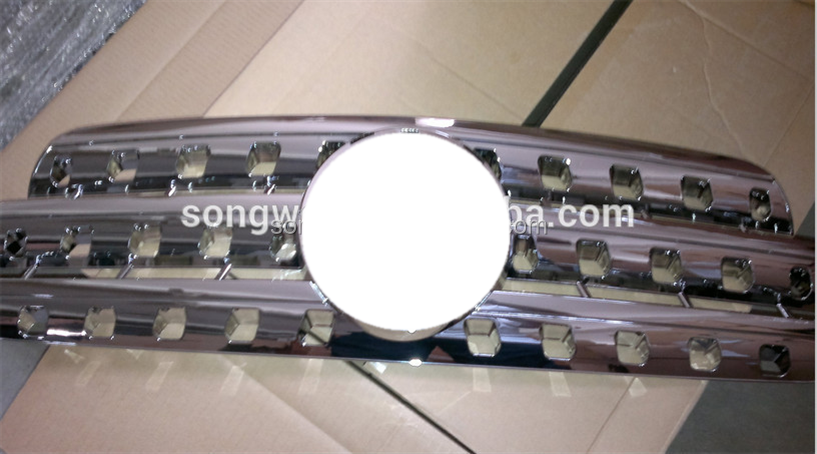 for ABS material hot sale B-enz w163/ML320 car front grille/chrome grill