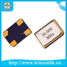 High Quality 3225 SMD Quartz Crystal Oscillator / Resonator (3.2x2.5mm)