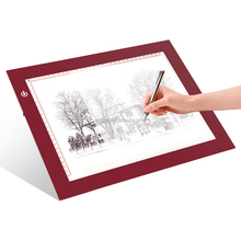 A4 LED Ultra-thin Light Tracer Artcraft Tracing Light Pad Adjustable Tracing Light Box Tattoo Copy Board