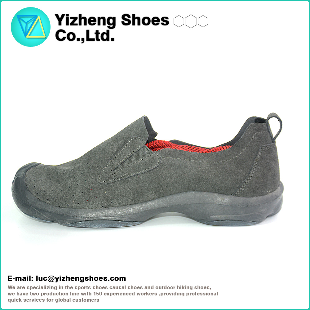 High Quality Hot Selling Men Leather Casual Cheap slip on shoes