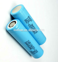 flat top samsung lithium ion battery cell 18650 inr 25r rechargeable batteries