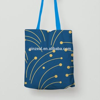 Hot Promotion Customized Printing Bulk 100% Cotton Canvas Tote Bag