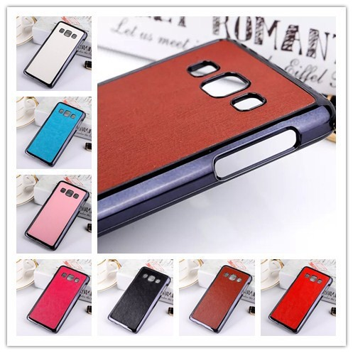 Luxury PU Leather Back Cover Hard Protect Case For Samsung Galaxy A3 MOBILE PHONE