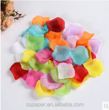 hotsale products for party and wedding decoration Simulation of rose petals
