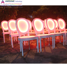 event venue rental led banquet chairs (CH001)