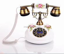 Modern Design Hand painted Telephone Antique Caller Id Phone
