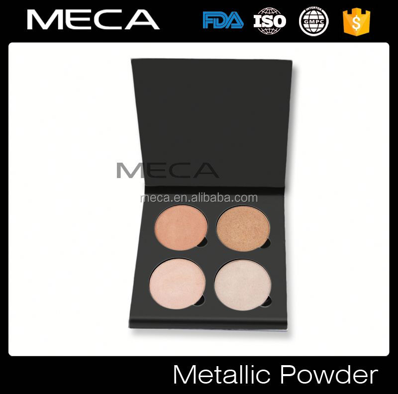 rainbow color pressed face powder private label highlighter pressed powder highlight powder