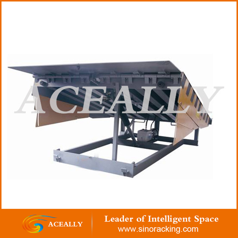 ACEALLY 5-15t Hydraulic container loading and unloading manual dock ramp for sale