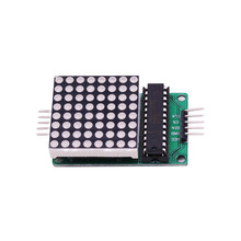 2018 new MAX7219 LED Display Control 8*8 LED 8 Digit Dot Mat Matrix Module for Uno Diy Starter Kit MAX 7219