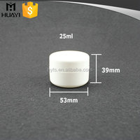 25ml luxury double wall plastic cosmetic packaging cream jar