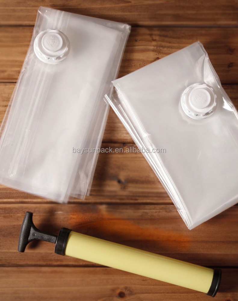 newest Plastic smart vacuum space saver storage bag packing bags