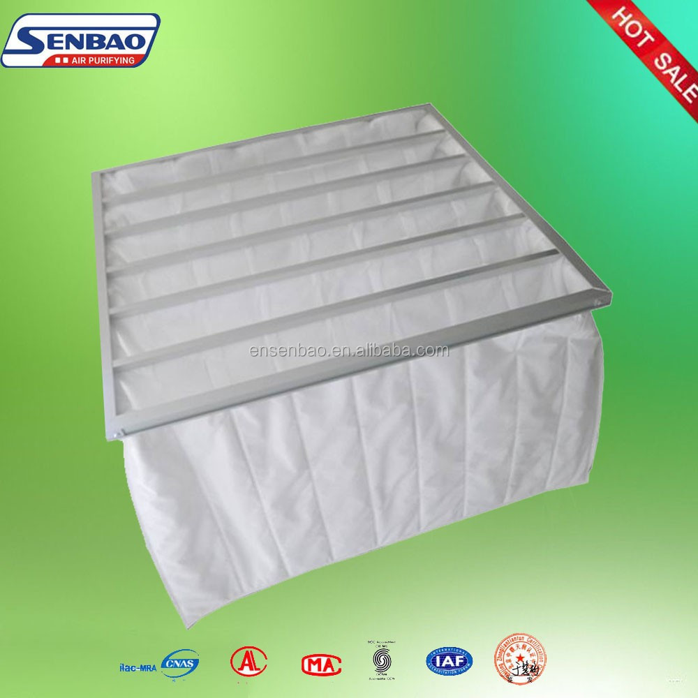 F5 White Synthetic Fiber Air Filter Bag Filter Cost