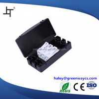 3 pin terminal box side open electrical switch box plastic