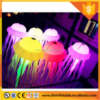 2016 Party decoration inflatable led jellyfish/ hanging balloon for event C-2