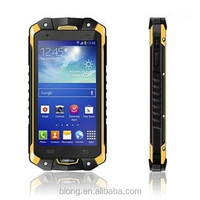 "Rugged Waterproof Shockproof walkie talkie 4.5"" 3000mAh Dual SIM Outdoor rugged phone"