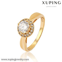 13036 Cheap gold jewellery gold, wholesale imitation jewellery, gold diamond wedding ring