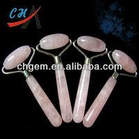 Semi precious Healing Stones&Rose Quartz Massage Stick