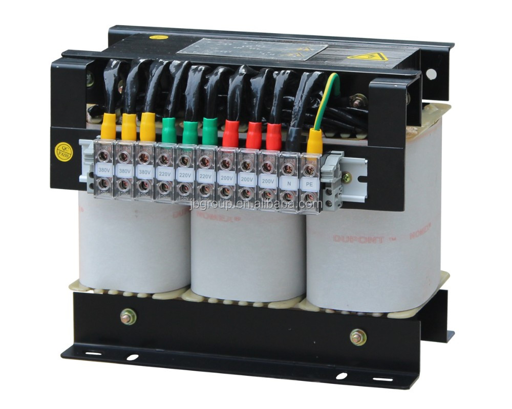 3 phase 50kva dry type isolation transformer 400v 220v