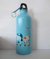 500ml aluminum bottle with carabiner