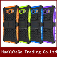 phone cases Rugged Hard Robot Back Cover Stand Holder kickstand case for Samsung Galaxy j710 j7 2106