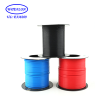10 meters (33 feet) Teflon tube AWG24, made in UK (Red Green Blue Yellow Black)