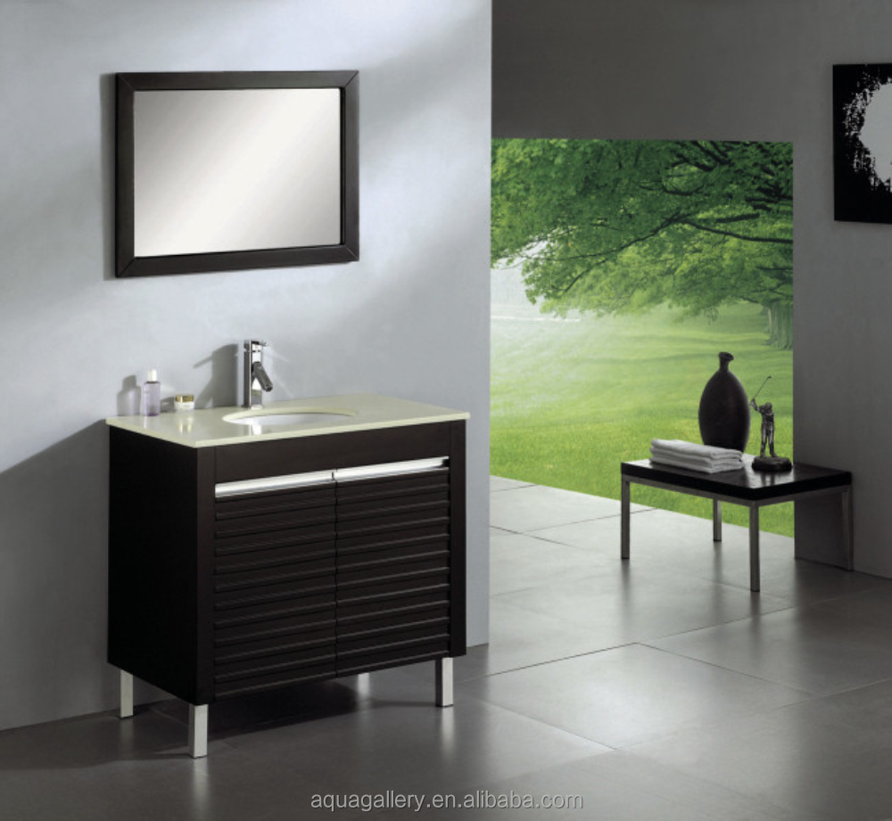 contempory hotel bathroom solid wood cabinet set buy