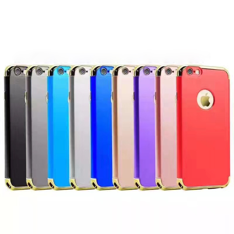 High Quality Hard Chrome PC Mobile Phone Case for iPhone 7 Plus