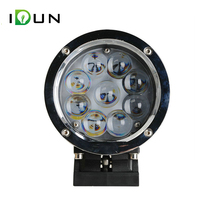 "12v 7"" LED Flood Truck Power 60w Spotlight 12 volt LED Motorcycles 60 watt Work Light for Motorcycle"