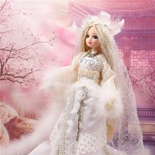 (YW-DF0108) DBS handmade luxury dress traditional chinese doll collector