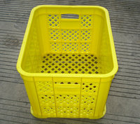 perforated fruit and vegetables plastic crates