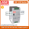 DR-120-24 120W 24V DIN Series Single Output Power Supply Meanwell Power Supply 24V 5A