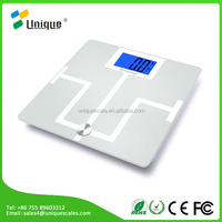 Unique Smart Wireless Scale: Ultra Wide Platform, Extra Large Display, 400lb/180kg Capacity, Step-on Technology