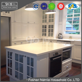 2017 new model for custom made kitchen cabinet in China