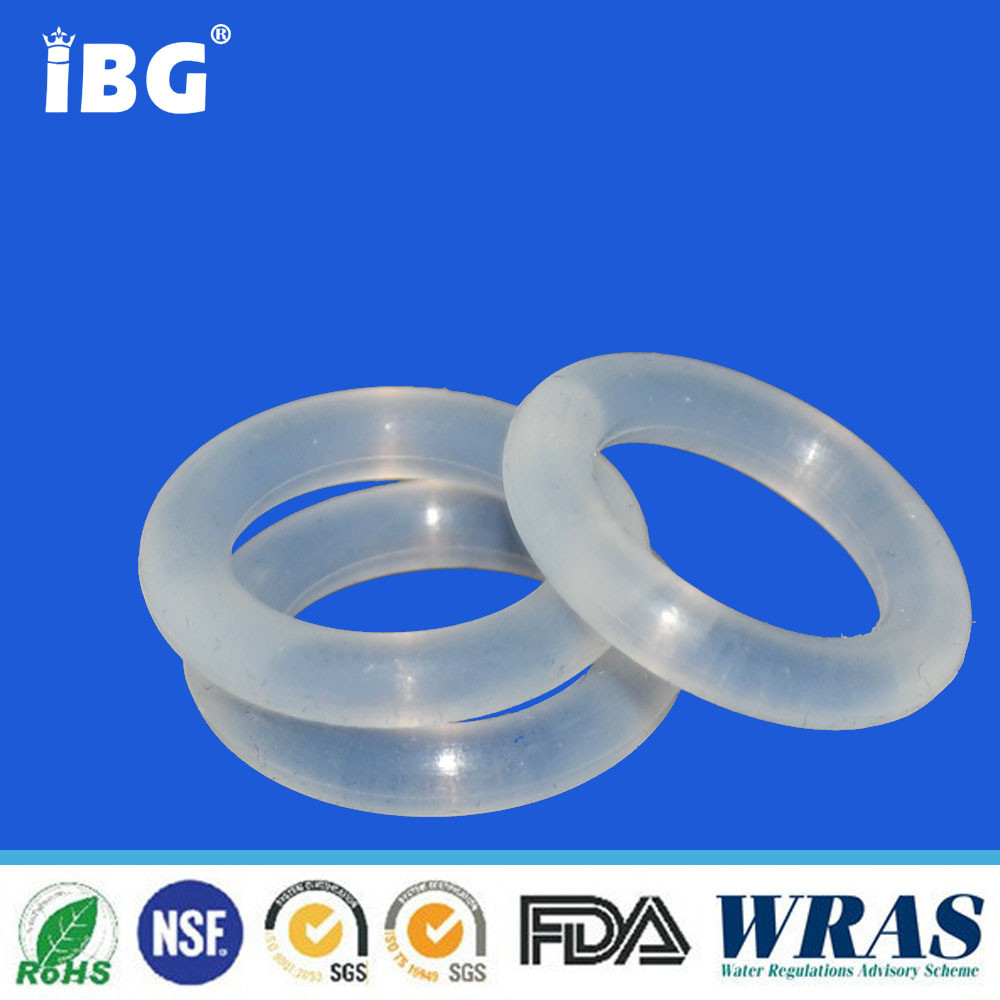 clear silicone rubber o ring for thermos