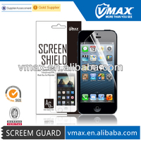 99% Transparent Matte waterproof For mobile phone LCD PET screen protector iPhone 5 5c 5s / screen protector wholesale