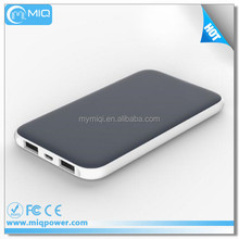Fashion Design Rubber Oil Surface 5000mah Power Bank