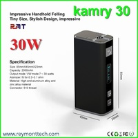 2015 Latest Unique Design Variable Wattage Mech Mod kamry30 kamry 30w box mod