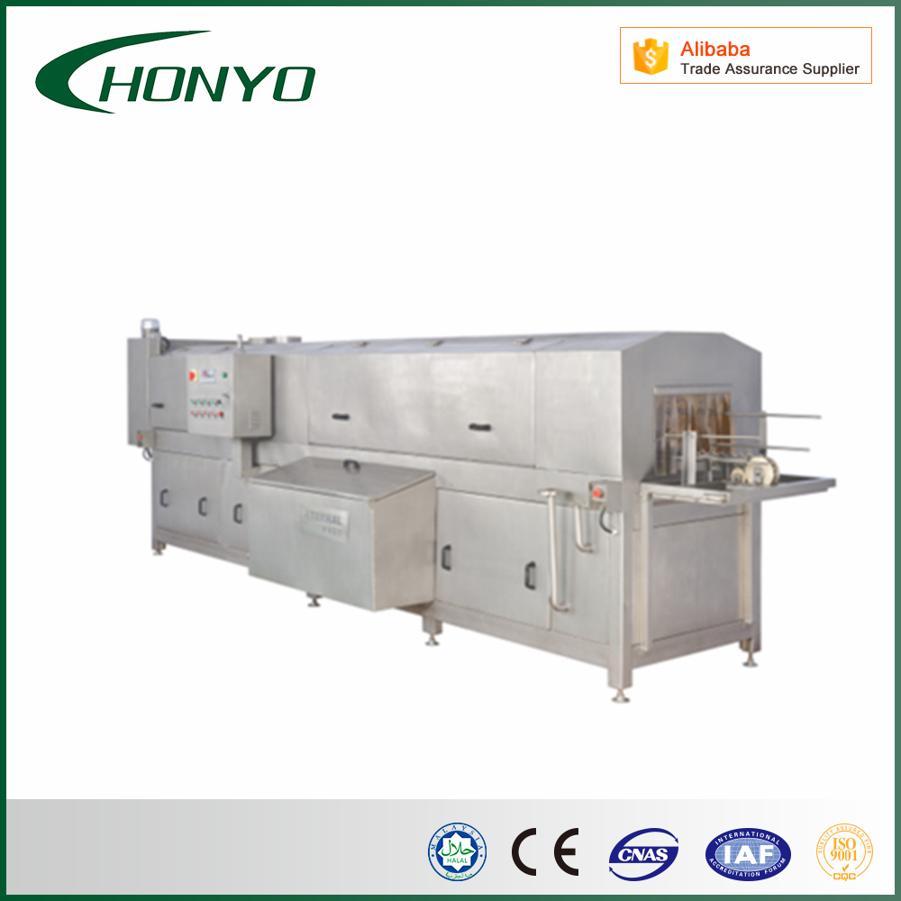 stainless steel crate washer/tray washing machine