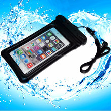 Wholesale custom waterproof cover for cell phone with neck Strap